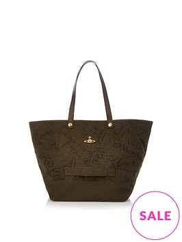vivienne-westwood-city-utility-canvas-shopper-bag-khaki