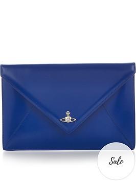 vivienne-westwood-private-envelope-pouch-blue