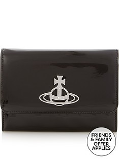 vivienne-westwood-johanna-cross-body-purse-black