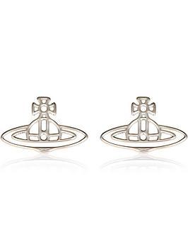 vivienne-westwood-thin-lines-flat-orb-stud-earrings-silver