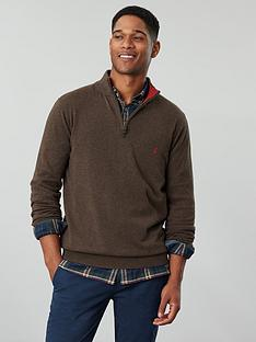 joules-hillside-quarter-zip-funnel-neck-jumper-brown