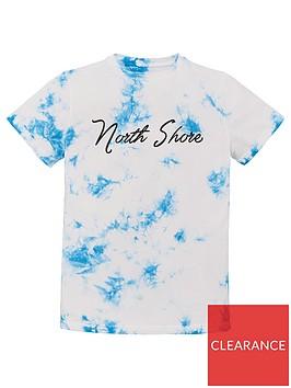 v-by-very-boys-north-shore-tie-dye-t-shirt-blue