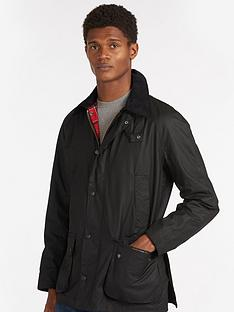 barbour-ashby-wax-jacket-black