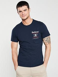 barbour-reed-t-shirt-navy