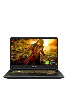 Asus FX705DU-AU035T AMD Ryzen 7, 16GB RAM DDR4, 1TB Hard Drive & 256GB SSD, NvidiaGTX 1660TI 6GB Graphics, 17.3 inch Thin Bezel PC Gaming Laptop - Black