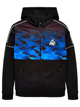 kings-will-dream-boys-bothwell-camo-zip-through-hoodie-black