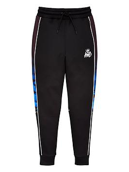 kings-will-dream-boys-bothwell-camo-jog-pants-black