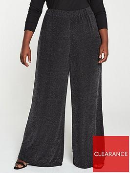 v-by-very-curve-lurex-glitter-wide-leg-trouser-black