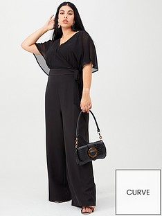 v-by-very-curve-wrap-crepe-jumpsuit-black