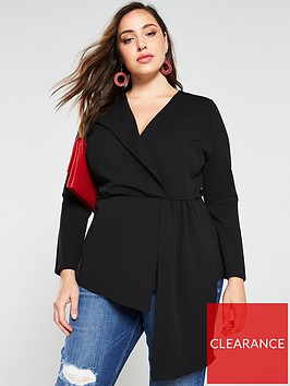 v-by-very-curve-asymmetric-long-sleeve-top-black