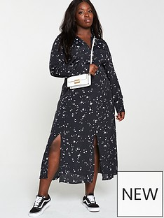 v-by-very-curve-star-shirt-midaxi-dress-multi