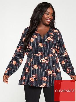 v-by-very-curve-floral-spot-blouse-multi