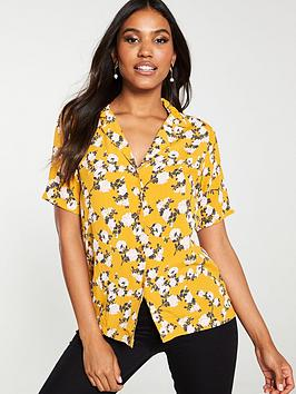 v-by-very-open-collar-short-sleeve-shirt-floral-print