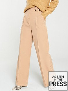 v-by-very-paper-bag-wide-leg-trousers-camel
