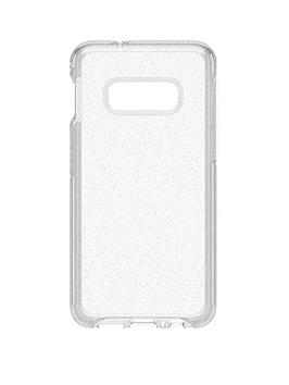 otterbox-otterbox-symmetry-clear-for-samsung-galaxy-s10e-clear-confidence-minimalist-but-tough-stardust-77-61598