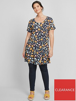 evans-floral-swing-tunic-navy