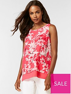 wallis-petite-orchid-over-layer-shell-top-pink
