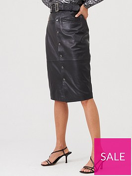 v-by-very-leather-utility-midi-skirt-black