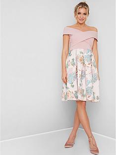 chi-chi-london-briley-bardot-dress-pink