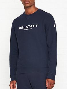 belstaff-1924-logo-print-sweatshirt-navy
