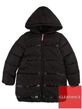 billieblush-girls-glitter-padded-hooded-coat-dark-grey