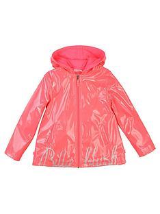 billieblush-girls-logo-hooded-raincoat-fuchsia