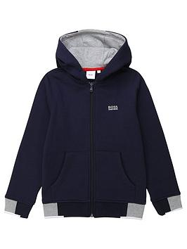 boss-boss-boys-classic-logo-hood-zip-through-sweat