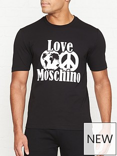 love-moschino-world-of-moschino-print-t-shirt