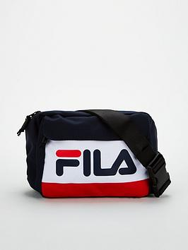 fila-lindon-waist-bag-navy