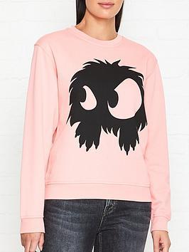 mcq-alexander-mcqueen-monster-print-sweatshirt-pink