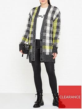 mcq-alexander-mcqueen-oversize-check-cardigan-multi