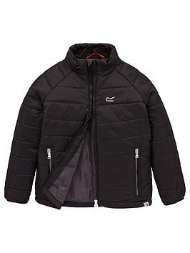 regatta-junior-freezeway-padded-jacket-black
