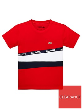 lacoste-sports-boys-short-sleeve-colourblock-t-shirt-red