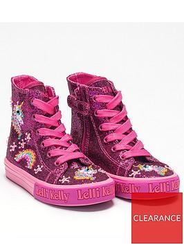 lelli-kelly-girls-abigail-unicorn-hi-top-plimsolls-purple-glitter