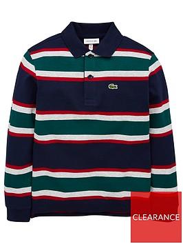 lacoste-boys-long-sleeve-stripe-pique-polo-shirt-navy