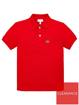 lacoste-classic-short-sleeve-pique-polo-shirt-red