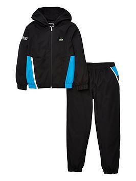 lacoste-sports-boys-colour-block-tracksuit-black