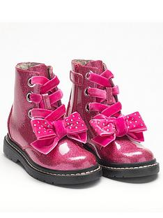 lelli-kelly-fior-di-fiocco-glitter-bow-ankle-boots-pink-glitter