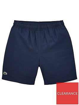 lacoste-sports-boys-classic-taffeta-shorts-navy