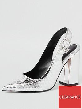 river-island-river-island-metallic-slingback-heel-shoe-silver