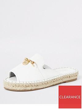 river-island-river-island-espadrille-peeptoe-sandals-white