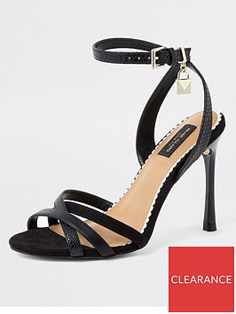 river-island-river-island-wide-fit-strappy-heeled-sandals-black