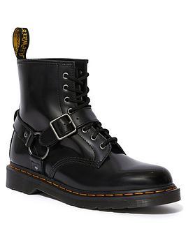 dr-martens-1460-harness-ankle-boots-black