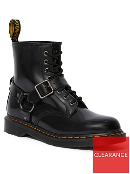 dr-martens-1460-harness-ankle-boots-black