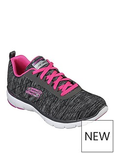 skechers-wide-fit-flex-appeal-30-insiders-trainers-blackpink