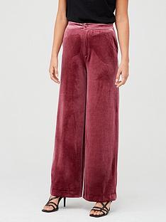 v-by-very-wide-leg-velvet-trouser-plum
