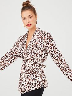 v-by-very-button-through-tie-back-blouse-leopard-print