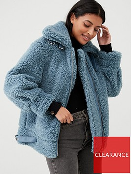 v-by-very-faux-fur-aviator-coat-blue