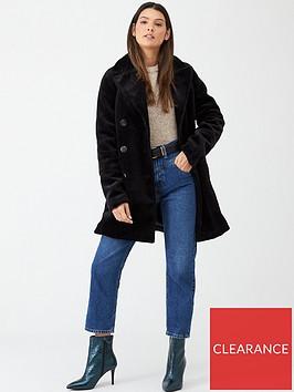 v-by-very-faux-fur-car-coat-black