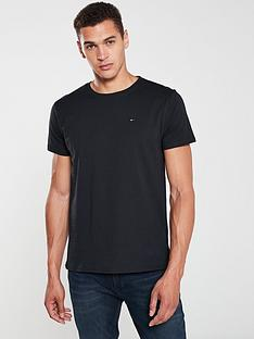 tommy-jeans-original-flag-logo-t-shirt-black